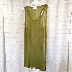 ALC Olive Green Tunic Tank Dress